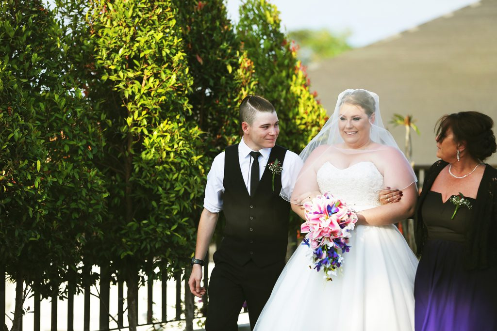 Wedding in Bali at Sun Island Bali Hotel - Groom and Bride