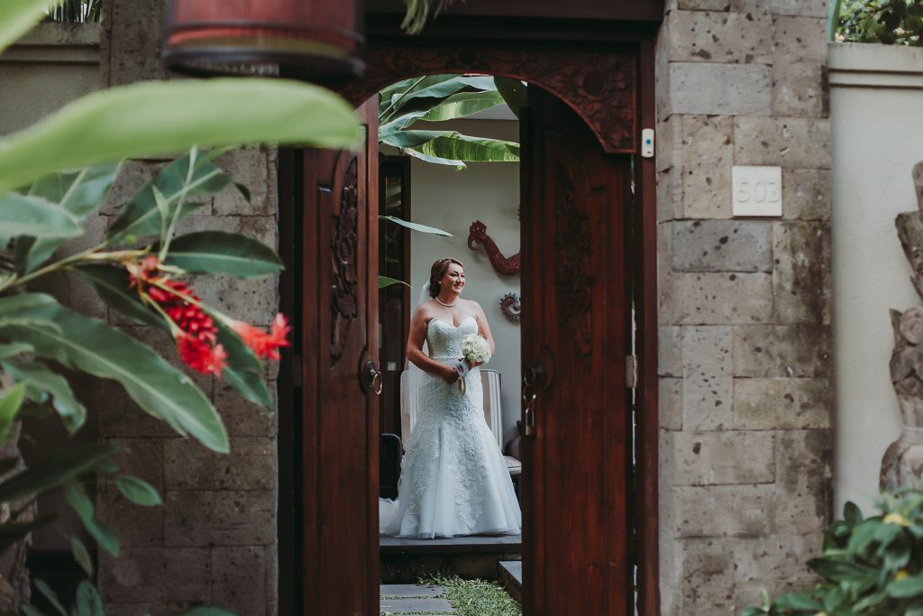 Wedding in Bali at Sun Island Bali Hotel - Bride Dress Ideas