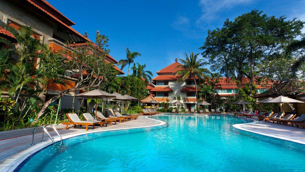 Sun Island Bali, White Rose Resort, Banner