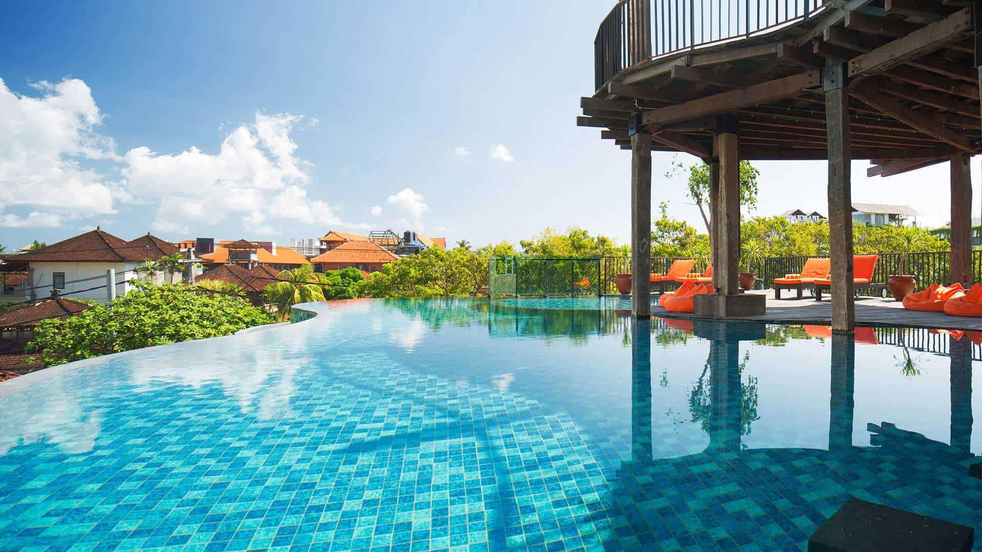 Sun Island Bali, Hotel Legian, Banner