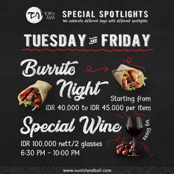 Burrito Night